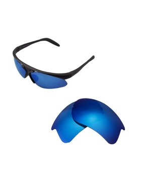 9761d197bbcd2 Product Image Walleva Ice Blue Polarized Replacement Lenses for Bolle  Vigilante Sunglasses
