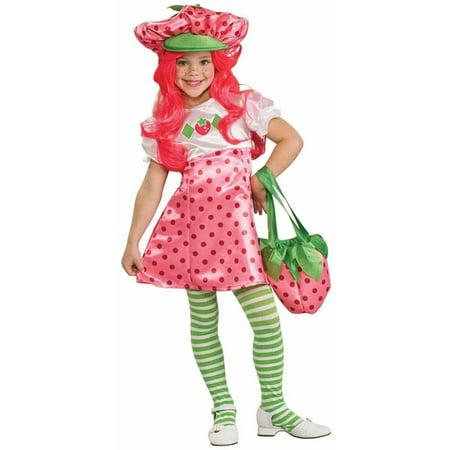 Deluxe Strawberry Shortcake Child Costume - Medium