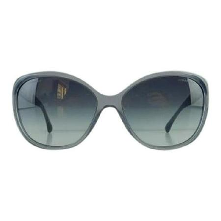 Gently Used Chanel 5309-B 1467/S6 Grey Blue Plastic Sunglasses 59mm
