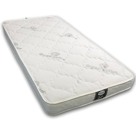 ViscoLogic Maxima Comfort Luxurious Organic Cotton Quilted Flippable Foam Mattress - Double Size - image 4 of 7