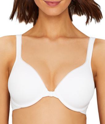 Hanes Front-Close Underwire Bra T-Shirt Ultimate ComfortBlend Convertible Soft