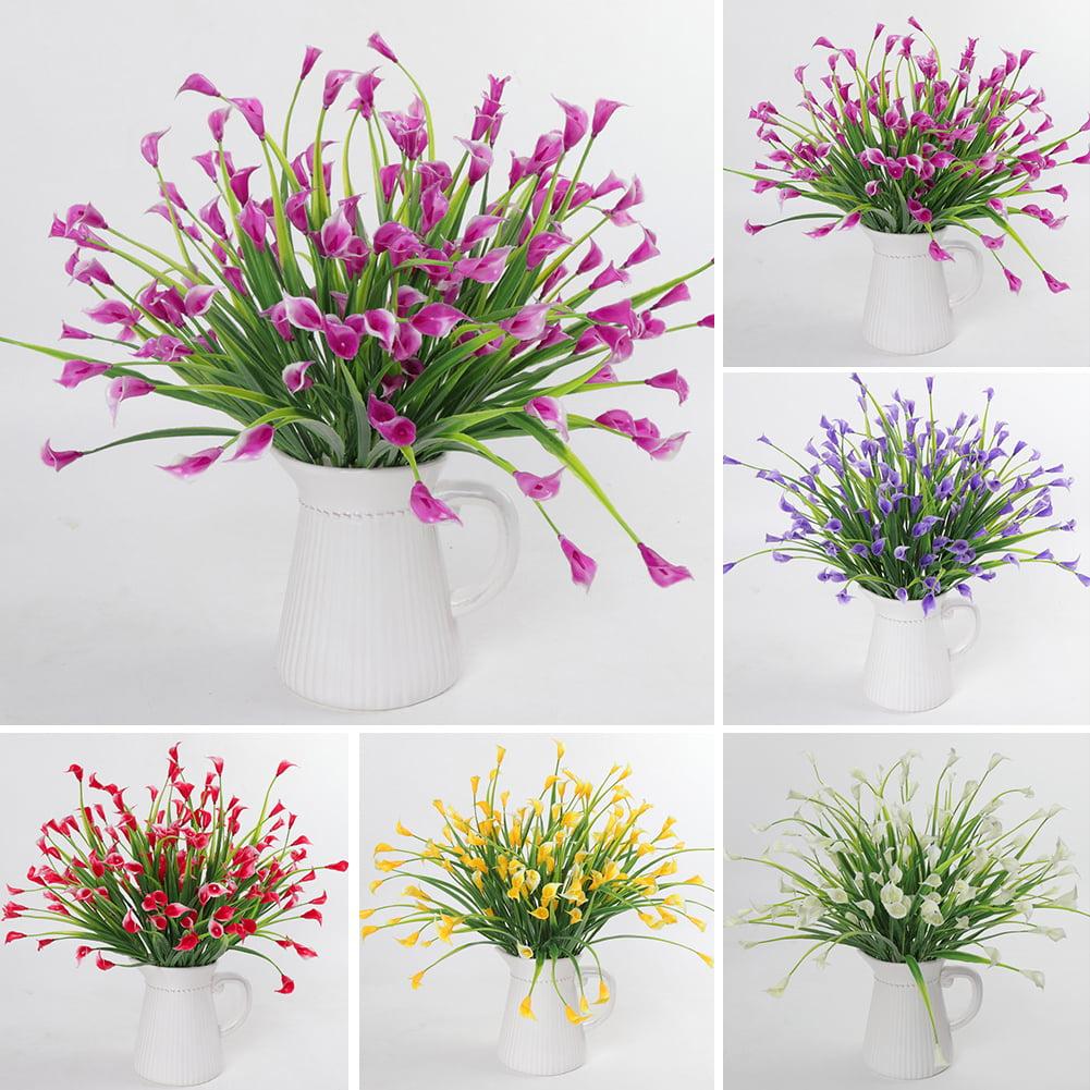 Moderna 1 Bouquet 5 Branches Artificial Calla Lily Flower Wedding Table Plant Home Decor