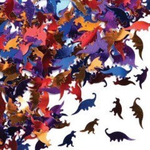 Foil Dinosaurs Confetti