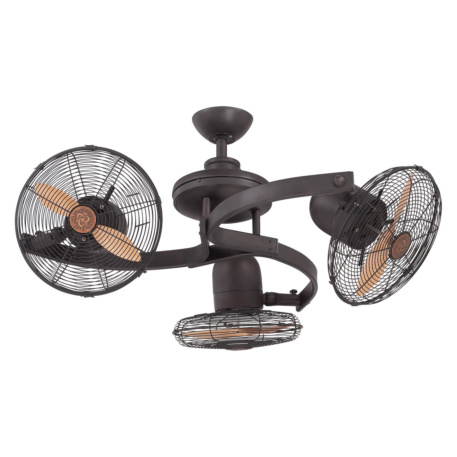 Savoy House Circulaire 38-951-CA-13 3-Headed Ceiling Fan