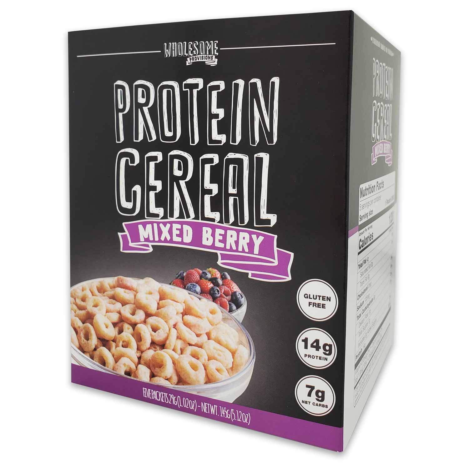 Protein Cereal, Low Carb Cereal, High Protein Cereal, 15g