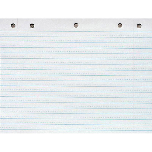 stationery - How to write in a straight line without lined paper ...