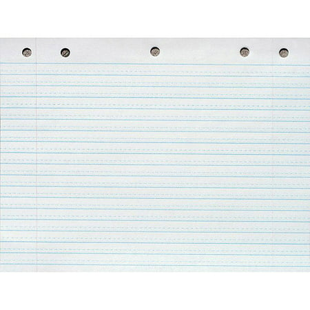 School Smart Cursive Ruled Long Way Notebook Paper With Margin  X