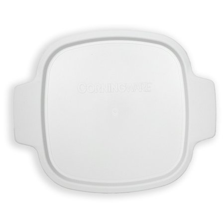 - Corningware Stovetop A-1-PC 1.5qt/1.4L White Storage Lid for Square Casserole Dishes (sold separately)
