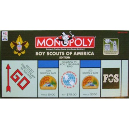 Monopoly Boy Scouts of America 95th Anniversary Edition