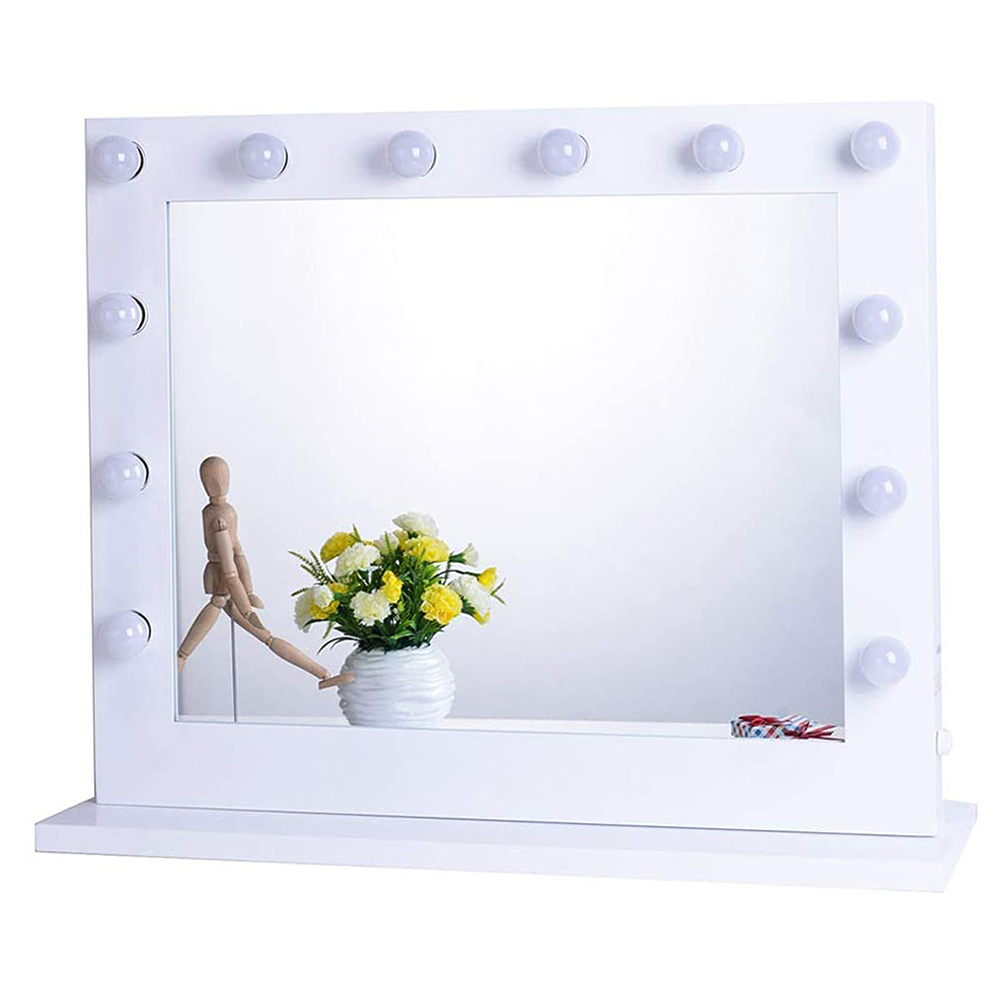 chende vanity mirror with lights, hollywood lighted makeup