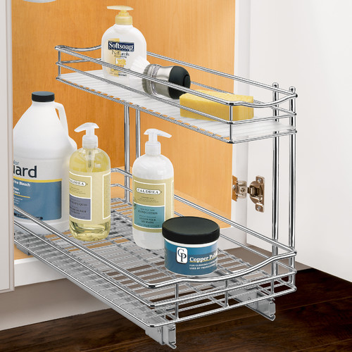 Lynk Professional Slide Out Under Sink Cabinet Pull Out Drawer