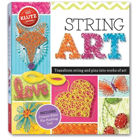 Klutz String Art Book Kit (Christmas Arts And Crafts)