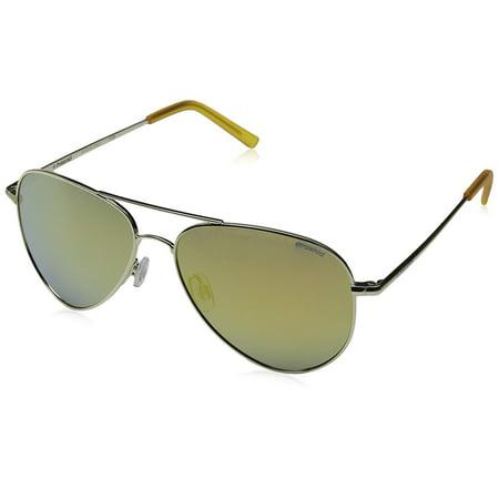 60mm Aviator Sunglasses (Polaroid Sunglasses Aviator)