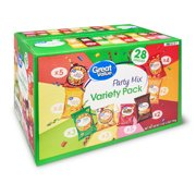 Great Value Chips Variety Pack, 28 Ct
