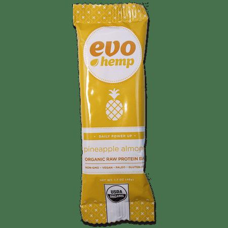 Evo Hemp Pineapple Almond + Protein Bar