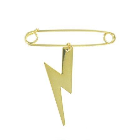 Safety Pin Brooch 2