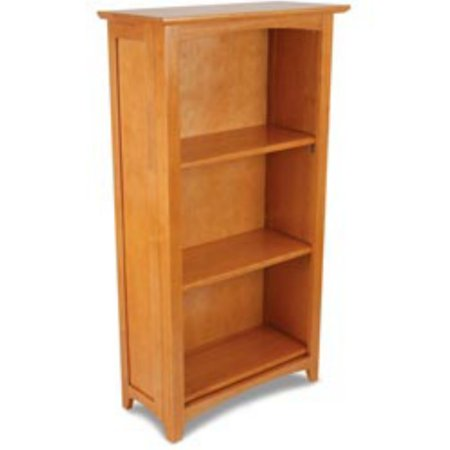 Kidkraft Kids Bookshelf 3 Tier Sturdy Wood Honey