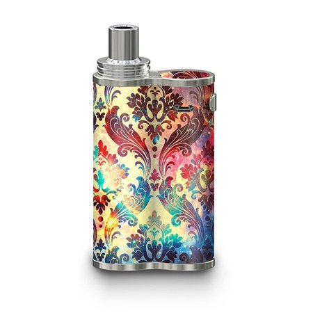 Skins Decals For Eleaf Ijustx Vape Mod / Galaxy Paisley Antique