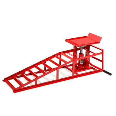 Stark Drive Up Ramp Low Profile Car Lift Service Ramps Auto Truck Trailer Garage Automotive Hydraulic Lift Repair