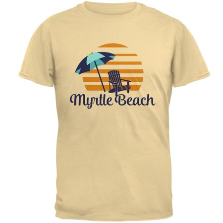 Summer Sun Sunset Myrtle Beach Mens T Shirt ()