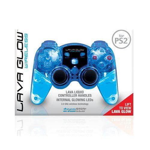 DREAMGEAR DRM524B PlayStation 2 Lava Glow Wireless Controller
