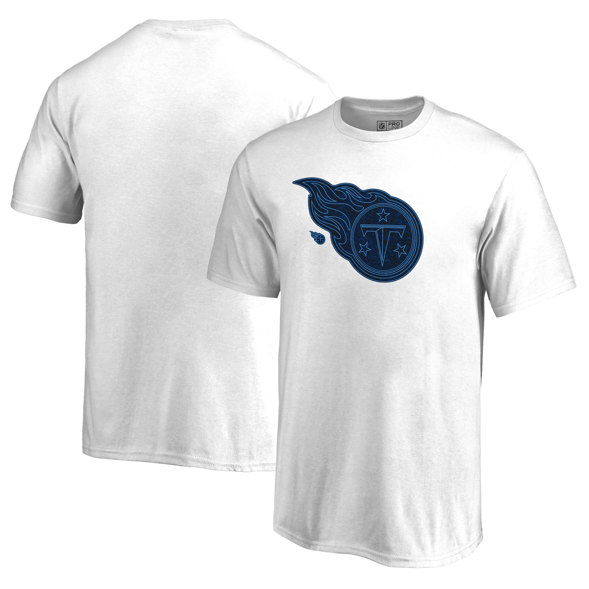 Tennessee Titans NFL Pro Line by Fanatics Branded Youth Training Camp Hookup T-Shirt - White
