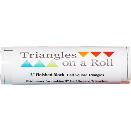 """Half-Square Triangles On A Roll -50' 1"""" Finished Size - image 1 de 1"""