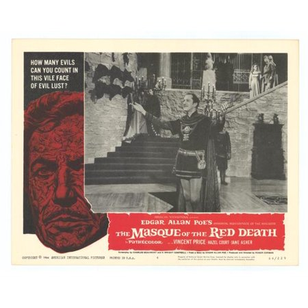 Masque of the Red Death POSTER Movie D Mini - Masques Halloween
