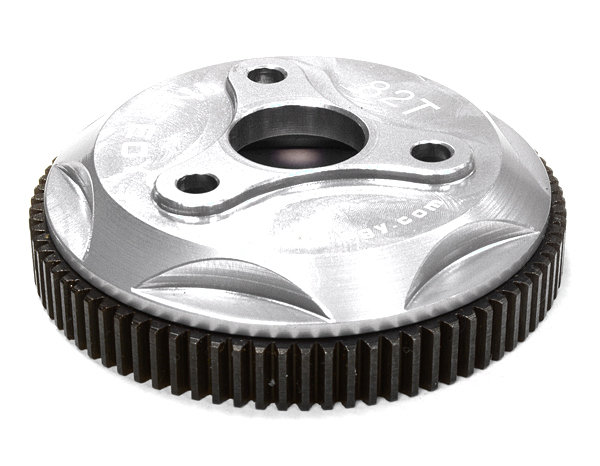 Integy RC Toy Model Hop-ups T8028SILVER 82T Metal Spur Gear for Traxxas 1 10 Electric... by Integy