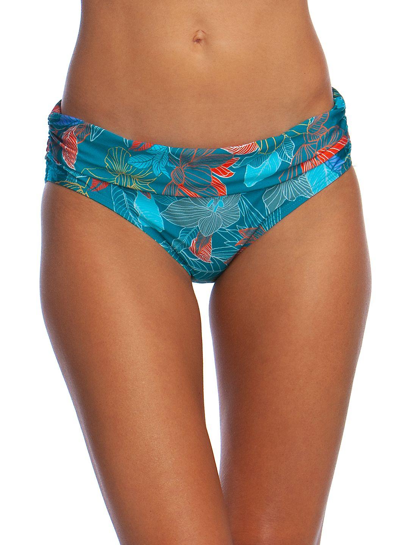 Trace of Paradise Shirred Hipster Bikini Bottom