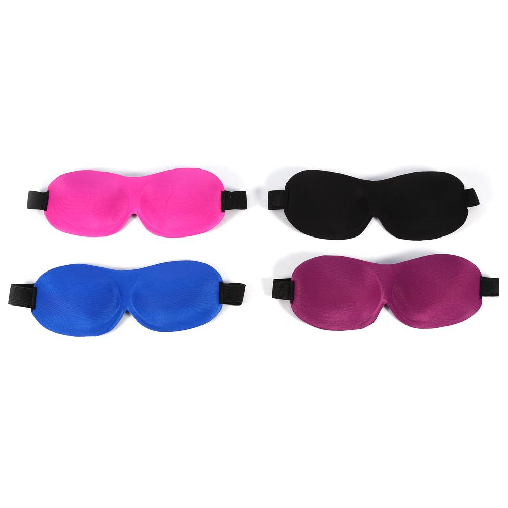 Keenso 4 Colors Breathable Eye Care 3D Sleep Mask Blindfold Accessory For Sleeping Travel , eyewear mask, eyepatch