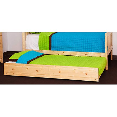 Storkcraft Canwood Trundle Bed Natural