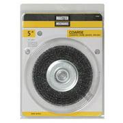 """6"""" Coarse Crimped Wire Wheel, Disston, 307025"""
