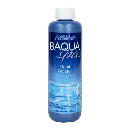 Metal Control (1 pt), Deactivates metals in spa water By Baqua Spa from USA (Spa Side Control Extension)