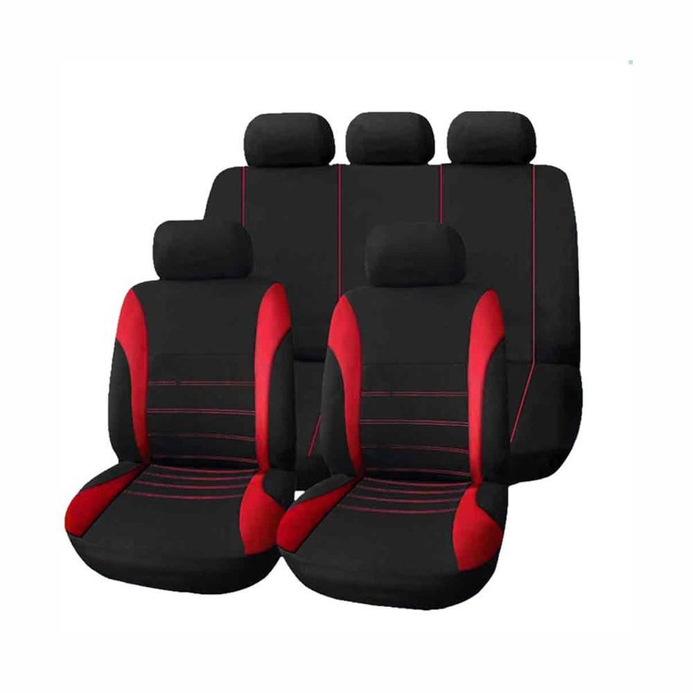 Mazda cx-5 II 17-Siège Auto Housses Foncé Rouge Ensemble Complet Housse De Siège Housses De Protection