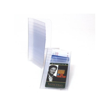 checkbook plastic insert for pictures cards 6 pages set of 2 inserts