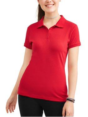 Wonder Nation Juniors' Uniform Short Sleeve Polo