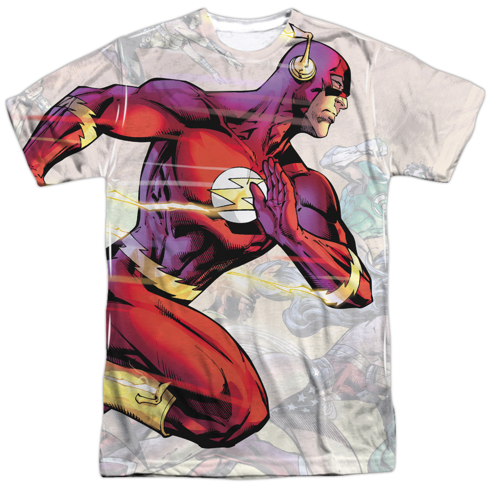Trevco Justice League JLA DC Comics Flash Taking the Lead...
