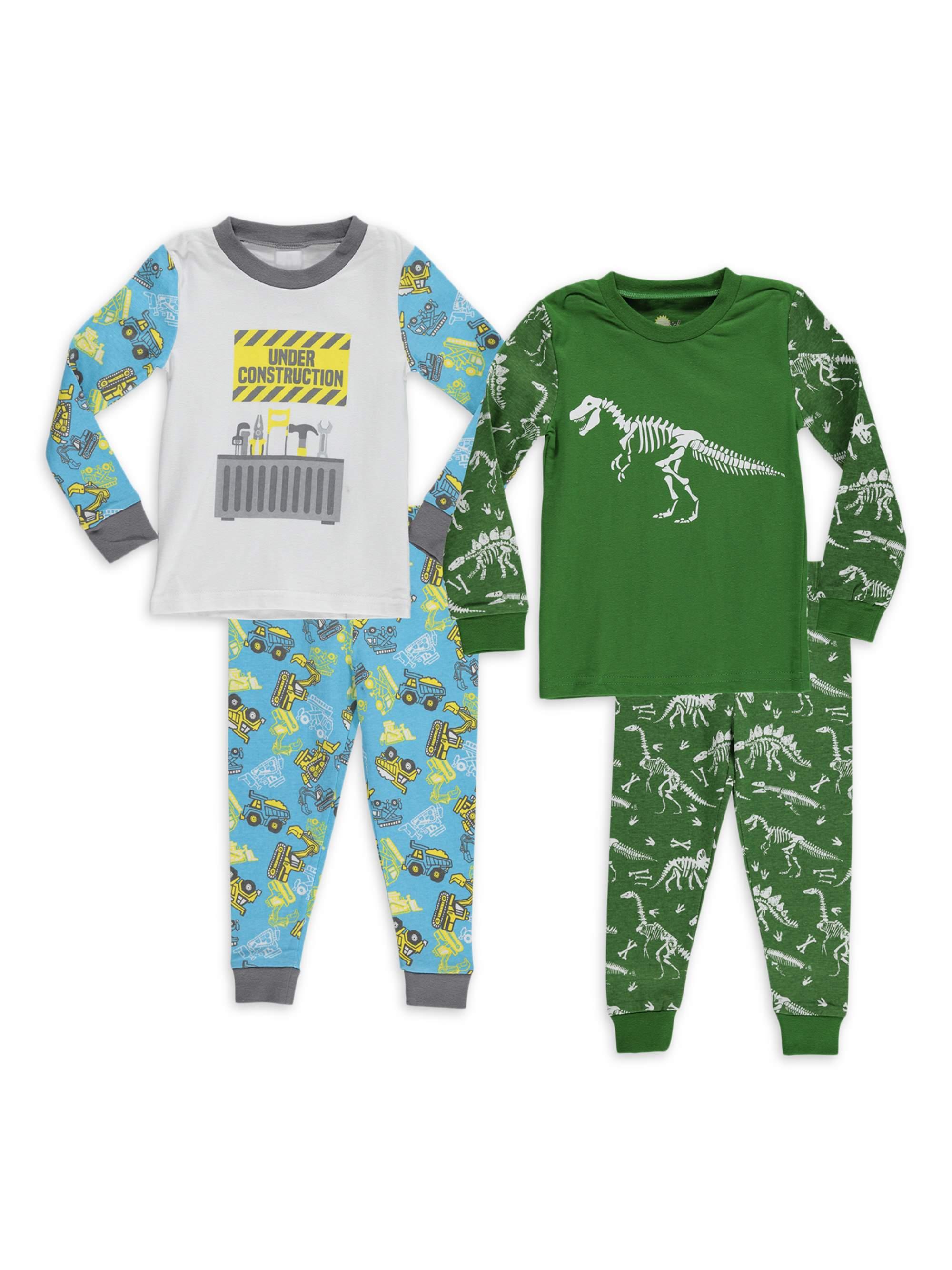 7 Heather Grey Kids Large NCAA by Outerstuff NCAA Indiana Hoosiers Kids Long Sleeve Tee /& Pant Sleep Set