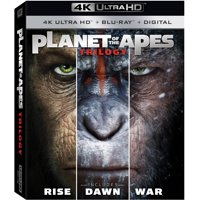 Deals on Planet of the Apes Trilogy 4K Ultra HD Blu-ray