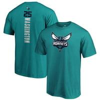 PJ Washington Jr. Charlotte Hornets Fanatics Branded Playmaker Name & Number T-Shirt - Teal