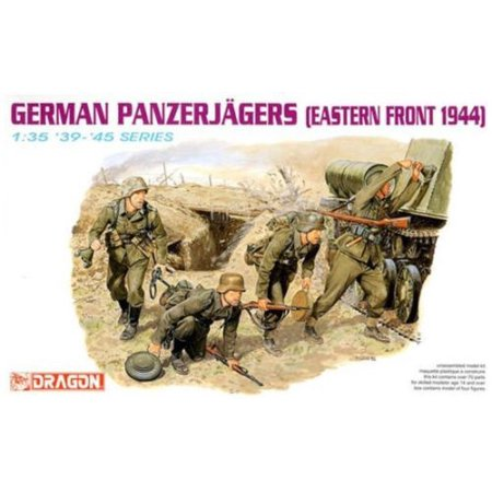 - Dragon 6058 German Panzerjaeger East Front 1944 1/35 Scale Model Figures