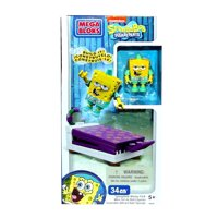 Spongebob Squarepants Wacky Packs SpongeBob Wacky Pack Set Mega Bloks 94628