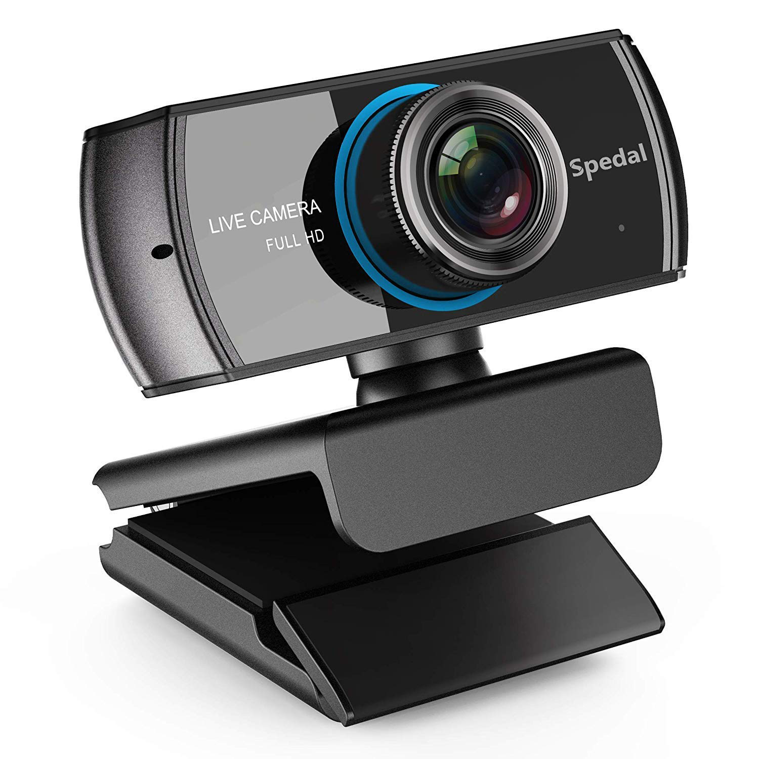 Full HD Webcam 1536p, Beauty Live Streaming Webcam, Computer Laptop Camera for OBS Xbox XSplit Skype Facebook, Compatible for Mac OS Windows 10/8/7