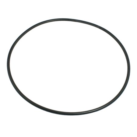 Unique Bargains Black 230mm x 5.7mm Thickness Nitrile Rubber O-ring Oil Seal Gasket