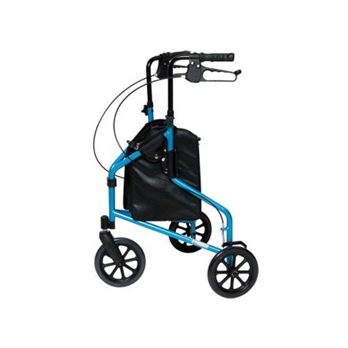 LUMEX 3-Wheel Cruiser - Blue 3-Wheeled Aluminium Rollator