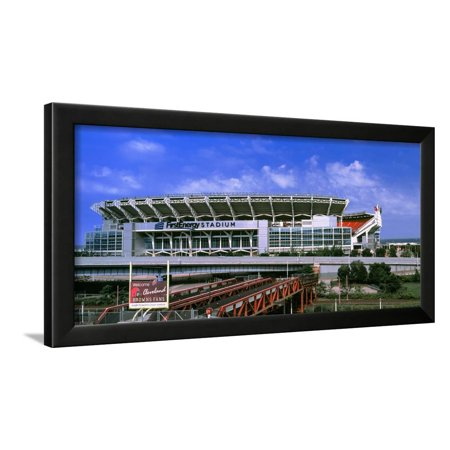 Football Stadium in a City, Firstenergy Stadium, Cleveland, Ohio, USA Framed Print Wall Art](Party City In Ohio)