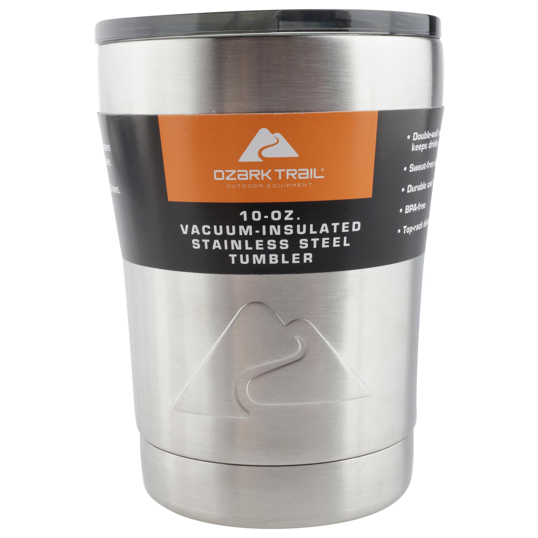 f05cfac1782 Ozark Trail 10 OZ Stainless Steel Lowball Tumbler - Walmart.com