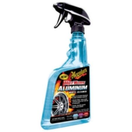 Meguiar's Hot Rims Aluminum Wheel Cleaner – Ultra-Safe on Uncoated Polished Aluminum – G14324, 24 (Best Rim Cleaner For Aluminum Rims)
