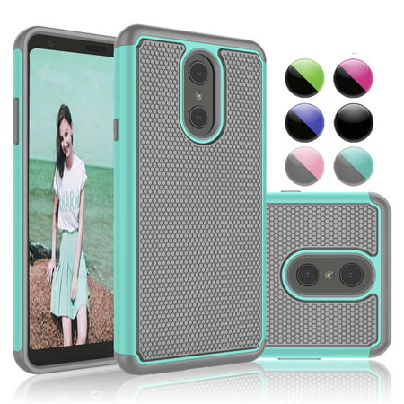 new style 8bfcd c0a94 LG Stylo 4 Cases, LG Stylo 4 Plus Case, LG Stylus 4 Case, Njjex Ruugged  Rubber Scratch Resistant Hard Plastic Phone Case For LG G Stylo 4 (2018 ...